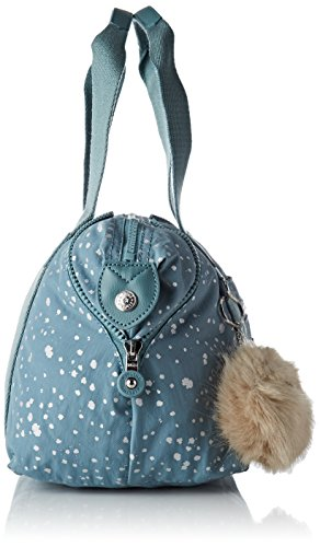 Azul Art Mujer Sky Silver maletín Bolsos Mini Kipling qSFwX8q
