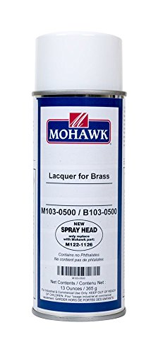 Brass Lacquer to Use on Brass and Brass-plated Metal Surface