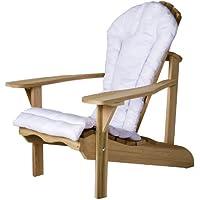 All Things Cedar CC21White Adirondack Chair Cushion, White