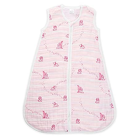 aden + anais Disney 1.0 TOG Sleeping Bag, 100% Cotton Muslin, Winnie The Pooh, 6-12m Aden and Anais DISN305G