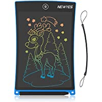 NEWYES LCD Writing Tablet 8.5 Inch Colorful Drawing Doodle Board Boy Toys