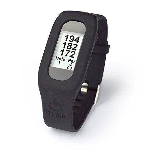 TLink Golf TLG42213 GPS Watch & Activity Tracker, Black