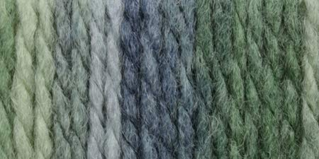 Patons Shetland Chunky Yarn, 3.5 oz, Country Sky Variegated, 1 Ball ()