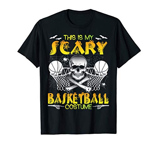 Skull Skeleton This Is My Scary Basketball