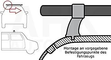 Stahl Dachträger Zur Montage An Vorgegebene Befestigungspunkte Des Fahrzeugs Auto