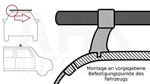 Stahl Dachtr/äger fahrzeugspezifisch kompl Qualit/ät