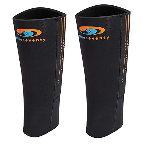Best Deals! blueseventy SwimRun Calf Sleeves - gain Buoyancy for Your Legs During The Swim portions ...