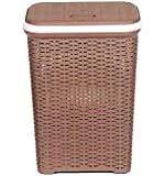 Nilkamal Laundry Basket Brown 50 L