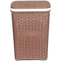 Nilkamal Laundry Basket Brown 50 L