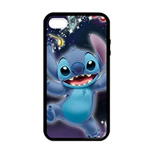 SUUER Rubber Silicone Lilo And Stitch background Designer Personalized Custom Plastic Rubber Tpu CASE for iPhone 5 5s Durable Case Cover by lolosakes