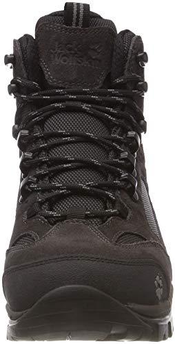 Hautes All Randonnée Femme de Jack W 6101 Terrain Chaussures Mid 8 Texapore Shadow Wolfskin Gris Black vw5pxwqU1