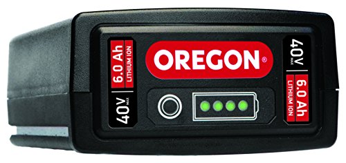 Oregon Cordless 40V Max B650E, 6.0 Ah Lithium-Ion Battery Pack by Oregon