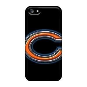 Excellent Design Chicago Bears Phone Case For Iphone 5/5s Premium Tpu Case