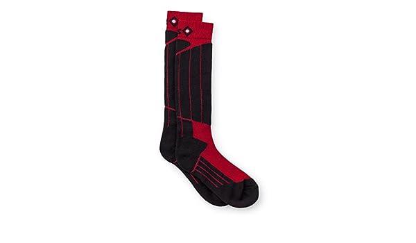 Izas Fontan - Calcetines Unisex, Color Negro/Rojo: Amazon.es: Zapatos y complementos