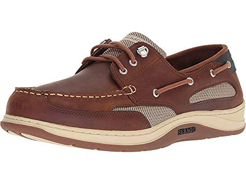 (Sebago Mens Clovehitch II Brown Cinammon 11 M)