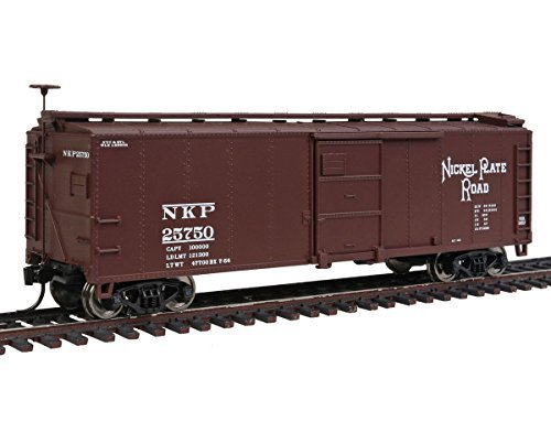 - Walthers HO Scale 40' X-29 Steel Boxcar Train Car Nickel Plate Road/NKP #25750 by Walthers