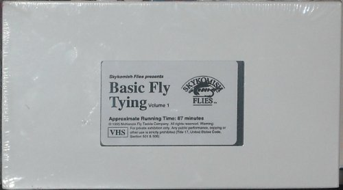 Basic Fly Tying Volume 1 VHS Tape (1995)