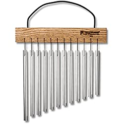 TreeWorks Chimes TRE415 Made in USA Student Wind Chime, Hand-Held Bar Chime with Cord Handle (VIDEO)
