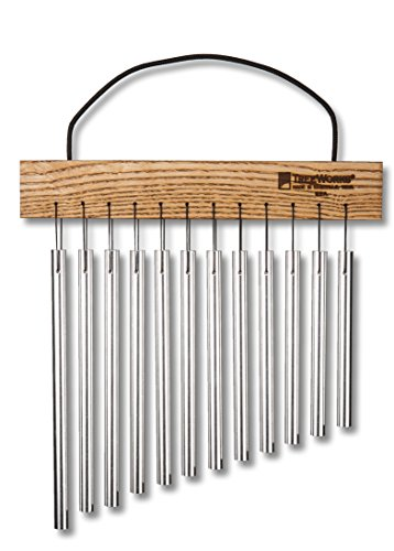TreeWorks Chimes TRE415 Made in USA Student Wind Chime, Hand-Held Bar Chime with Cord Handle (VIDEO) by TreeWorks Chimes