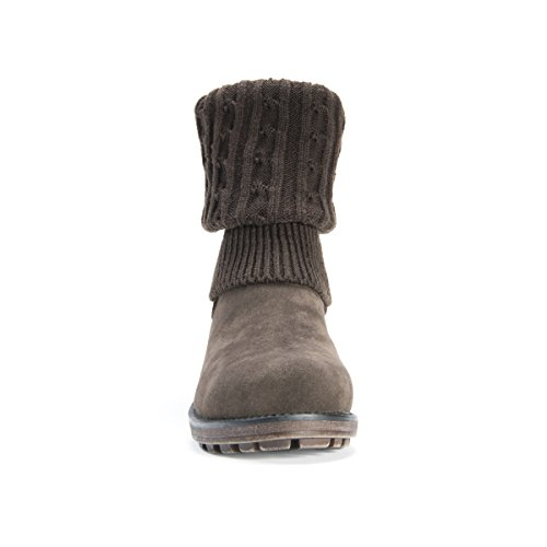 Boot Brown MUK LUKS Kelby Women's Winter YqpwUI