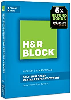 Save on H&R Block 2017 Tax Software at Amazon.com