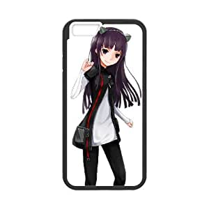 iPhone 6 4.7 Inch Cell Phone Case Covers Black Guilty Crown Characters MUS9201970