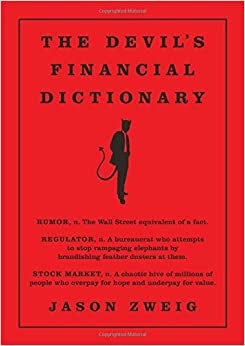 image for Devil's Financial Dictionary by Jason Zweig (2015-10-29)