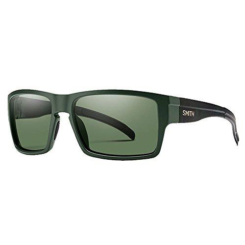 Smith Optics Mens Outlier XL Sunglasses Matte Olive Camo/Chromapop Polarized Gray - Men's Sunglasses Smith
