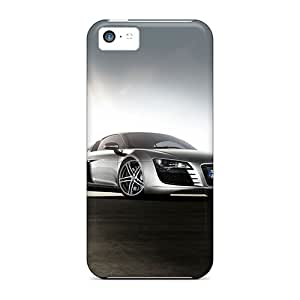 Great Cell-phone Hard Cover For Apple Iphone 5c With Unique Design Lifelike Audi R8 Pictures RobAmarook