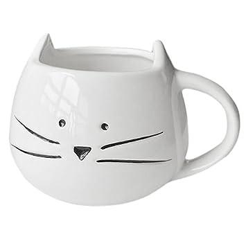 SODIAL(R) Taza de cafe Taza para los amantes Taza de ceramica de la