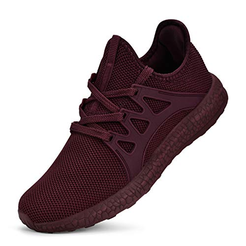 Guteidee Women's Sneakers Lightweight Breathable mesh Fashion Gym Tennis Sports Shoes