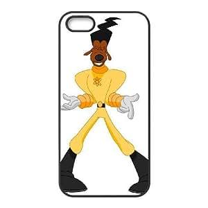 iPhone 5,5S Phone Case Black A Goofy Movie Powerline YU9394138