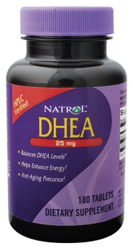 Natrol DHEA 25mg 180 Tablets