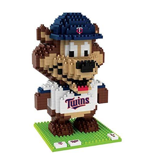 Minnesota Twins 3D Brxlz - Mascot- Tc - Twins Minnesota Mascot