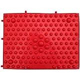 BodyBooster フットマッサージャー 家庭用&職場用 贈り物 (赤い)