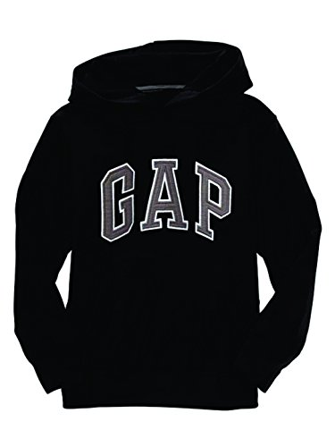 gap-factory-womens-fleece-arch-logo-pullover-hoodie-sweatshirt-true-black-knit-small