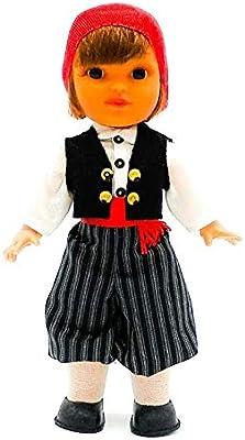 Amazon.es: Folk Artesanía Muñeco Regional colección 25 cm Vestido típico Mallorquín payés Mallorca Islas Baleares España.: Juguetes y juegos