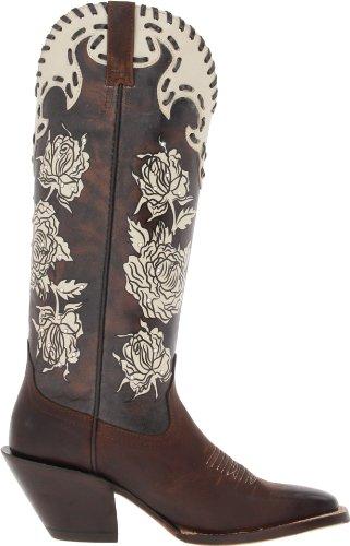 Amazon.com | Ariat Women's Callie Boot, Sassy Brown/Cream ...