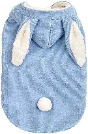 Huluob Manteau coupe-vent /à capuche pour enfants avec oreilles de lapin mignon imprim/é lapin v/êtements d/écontract/és pour b/éb/és et filles