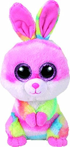 Amazon.com  Ty 36872 Beanie Boos - Lollipop The Rabbit 15cm  Toys ... 9794642a735