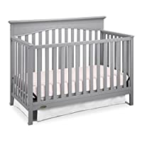 Graco Hayden 4-in-1 Convertible Crib, Pebble Gray