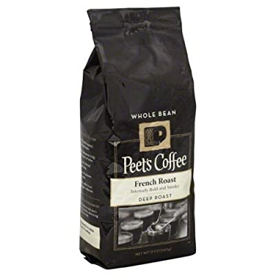 Peets Coffee Ground Deep Roast 12 Oz (Pack of 4)