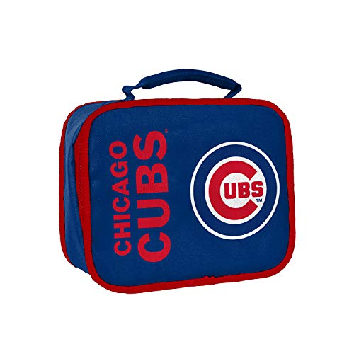 Officially Licensed MLB Chicago Cubs Sacked Lunchbox, 10.5-Inch, Royal (Twins Minnesota Box Lunch)