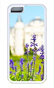 iPhone 5c case, Cute Lavender 3 iPhone 5c Cover, iPhone 5c Cases, Soft Whtie iPhone 5c Covers