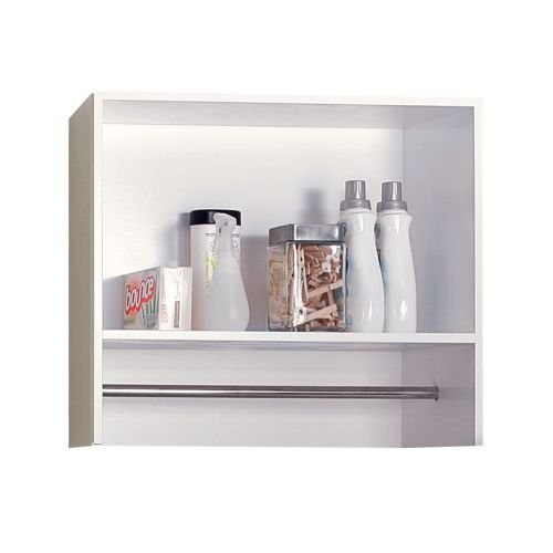 Foremost BEWS2712 Berkshire Laundry Wall Shelf,White