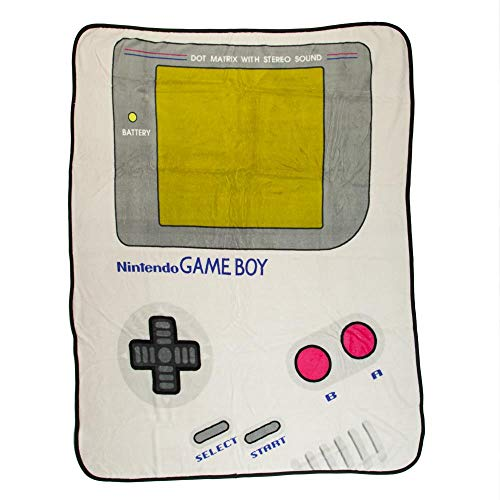 Nintendo Game Boy Throw Blanket