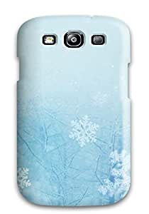 Durable Defender Case For Galaxy S3 Tpu Cover(christmas)