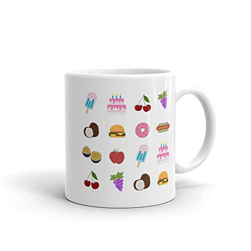 Munchies Mug, Colorful Mug, Food Lovers Mug, Gift for Friend, Family, Junk Food mug, 11oz, 15oz, gift
