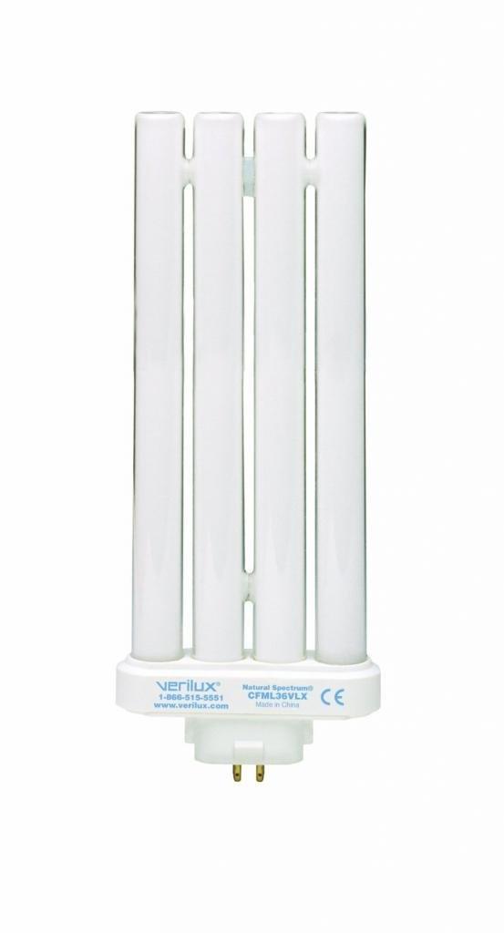 (6 Pack) Verilux 36W Natural Spectrum Replacement Compact Bulb - Verilux CFML36VLX