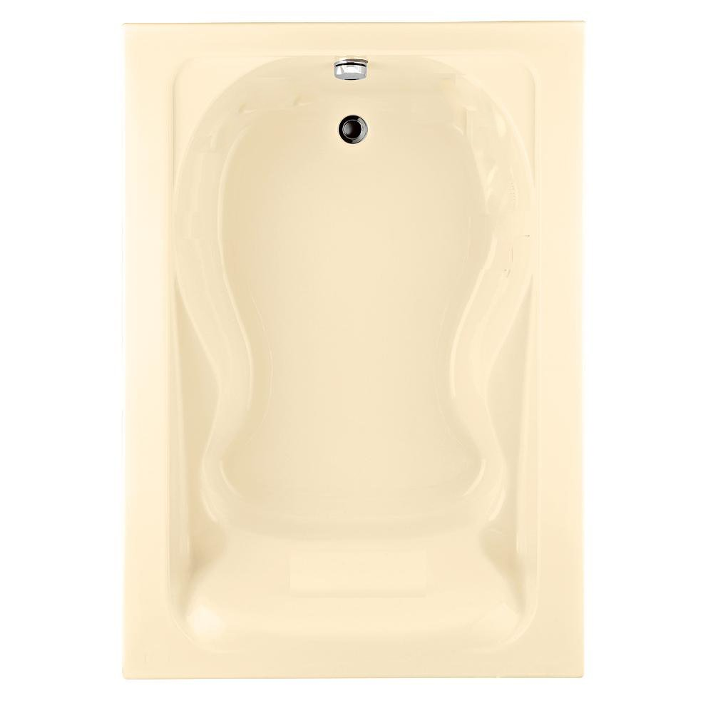 Glacier bay high efficiency dual flush toilet sells at home depot for - American Standard 2772 002 020 Cadet Bath Tub With Form Fitted Back Rest White Drop In